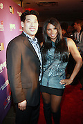 "l to r: Tom Lo and Sandra ""Pep"" Denton at the Celebration for the Finale episode of the VH1 hit reality show ' Let's talk about Pep held at the Comix Club on March 1, 2010 in New York City."