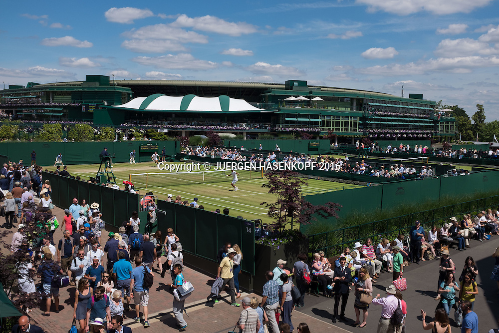 Wimbledon Feature<br /> <br /> Tennis - Wimbledon 2016 - Grand Slam ITF / ATP / WTA -  AELTC - London -  - Great Britain  - 6 July 2016.