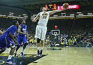 December 17, 2011: Iowa Hawkeyes forward Andrew Brommer (20) pulls in a rebound during the the NCAA basketball game between the Drake Bulldogs and the Iowa Hawkeyes at Carver-Hawkeye Arena in Iowa City, Iowa on Saturday, December 17, 2011. Iowa defeated Drake 82-68.