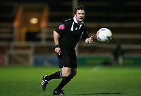 Photo: Rich Eaton.<br /> <br /> Peterborough United v Swansea City. Johnstone's Paint Trophy. 31/10/2006. referee Mr J Moss