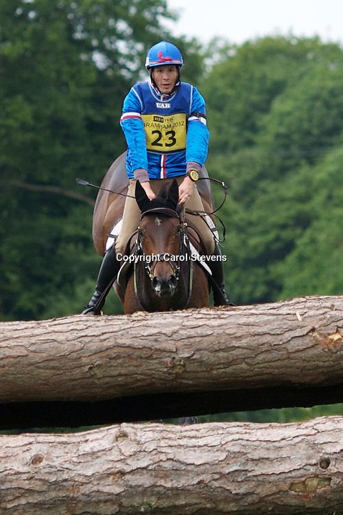 Equi-Trek Bramham International Horse Trials 2012  CCI3*<br /> Sebastian Chemin and Olympe D'Eos (FRA)