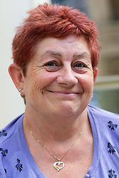Pauline Boden, 55, from Brighton is no fan of Boris and said he should have carried on battling in Parliament. London, September 24 2019.