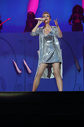 Katy Perry flashes her underwear whilst performing at the Radio 1 Big Weekender in Hull<br />