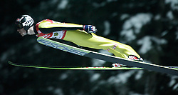 01.02.2011, Vogtland Arena, Klingenthal, GER, FIS Ski Jumping Worldcup, Team Tour, Klingenthal, im Bild Anders Jacobsen, NOR, während der Qualifikation // during the FIS Ski Jumping Worldcup, Team Tour in Klingenthal, Germany 1/2/2011. EXPA Pictures © 2011, PhotoCredit: EXPA/ Jensen Images/ Ingo Jensen +++++ ATTENTION +++++ GERMANY OUT!