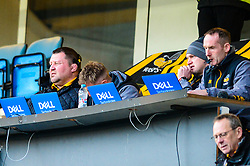 Wasps coaches look on during the game - Mandatory by-line: Dougie Allward/JMP - 18/01/2020 - RUGBY - Ricoh Arena - Coventry, England - Wasps v Bordeaux-Begles - European Rugby Challenge Cup