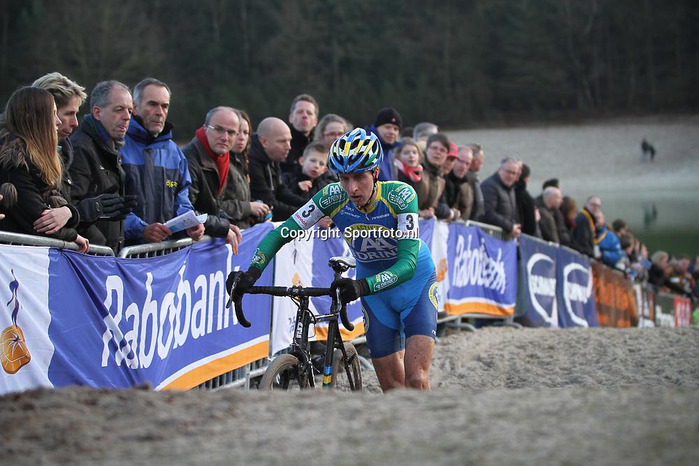Nederlands Kampioenschap veldrijden Gasselte elite Thijs van Amerongen