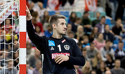 02.11.2016, Arena Nova, Wiener Neustadt, AUT, EHF, Handball EM Qualifikation, Österreich vs Finnland, Gruppe 3, im Bild Thomas Bauer (AUT)// during the EHF Handball European Championship 2018, Group 3, Qualifier Match between Austria and Finland at the Arena Nova, Wiener Neustadt, Austria on 2016/11/02. EXPA Pictures © 2016, PhotoCredit: EXPA/ Sebastian Pucher