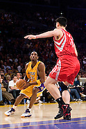 Lakers vs Rockets 3-30-07