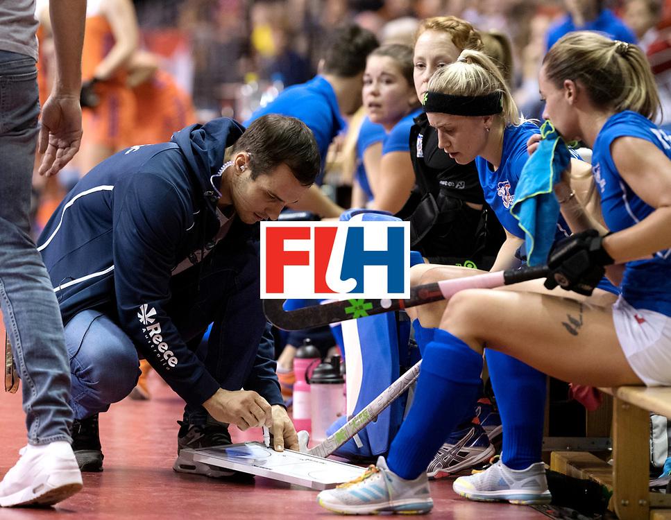 BERLIN - Indoor Hockey World Cup<br /> Quarterfinal 4: Netherlands - Czech Republic<br /> foto: PROCH&Aacute;ZKA Tomas.<br /> WORLDSPORTPICS COPYRIGHT FRANK UIJLENBROEK