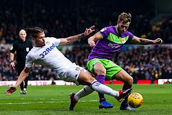 Tomas Kalas of Bristol City is tackled by Kalvin Phillips of Leeds United - Mandatory by-line: Robbie Stephenson/JMP - 24/11/2018 - FOOTBALL - Elland Road - Leeds, England - Leeds United v Bristol City - Sky Bet Championship