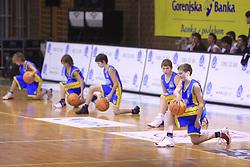Mladi kosarkasi na Dnevu slovenske moske kosarke, 26. decembra 2008, na Planini, Kranj, Slovenija. (Photo by Vid Ponikvar / Sportida)