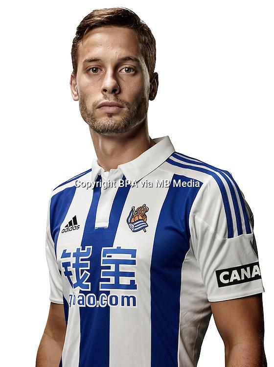 Spain - Liga BBVA 2015-2016 / <br /> ( Real Sociedad de Futbol ) - <br /> Sergio Canales Madrazo