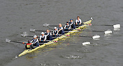 London, Great Britain.<br /> Master D winner, Upper Thames. competing in the <br /> 2016 Veterans&rsquo; Head of the River Race, Reverse Championship Course Mortlake to Putney. River Thames. Sunday  20/03/2016<br /> <br /> [Mandatory Credit: Peter SPURRIER;Intersport images]