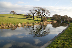 Canal at Galgate; Lancaster; location of proposed Heysham to M6 Link; Green Route,