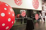 Yayoi Kusama opening. Tate Modern. London. 7 February 2012