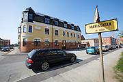 Ystad. Mariagatan - where Henning Mankell's Kurt Wallander lives.
