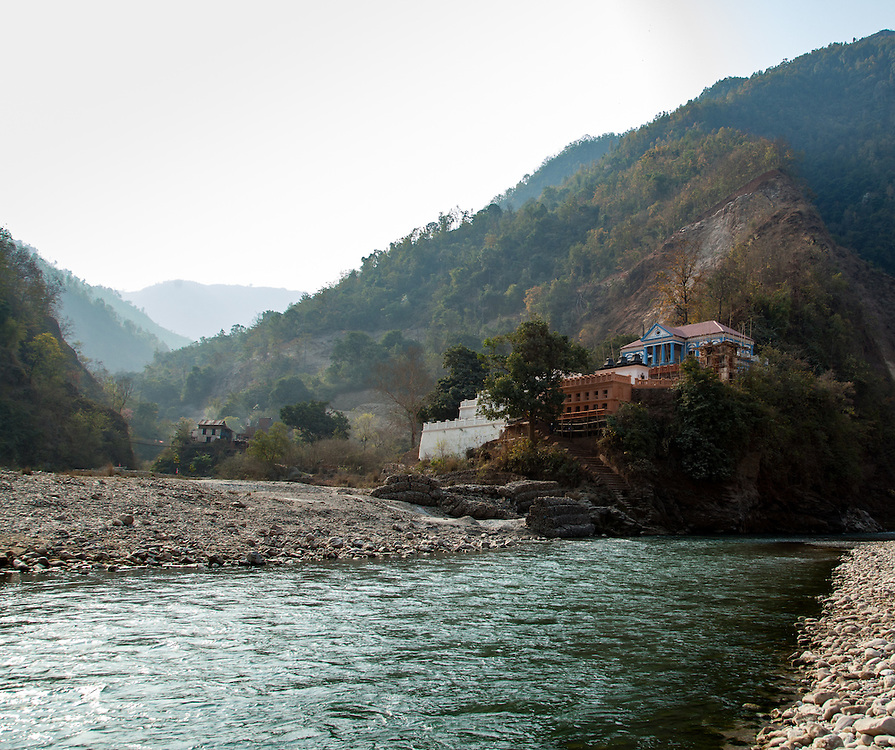 Ranighat Durbar on the Kali Gandaki near Tansen in Palpa.
