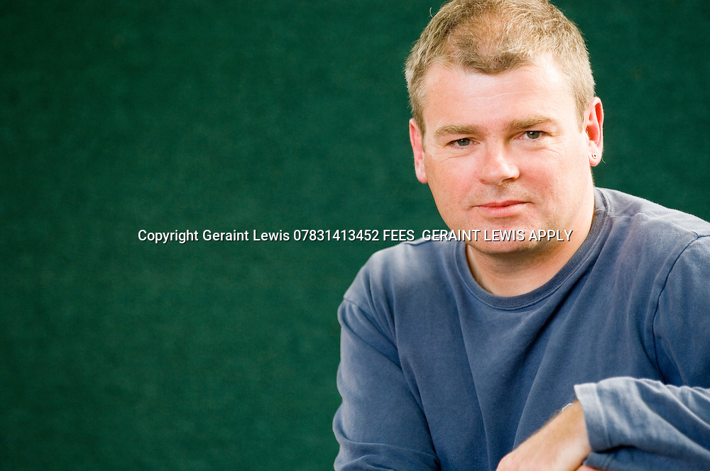 Mark Haddon, author of The Curious Incident of The Dog In The NIight Time and A Spot of Bother. CREDIT Geraint Lewis