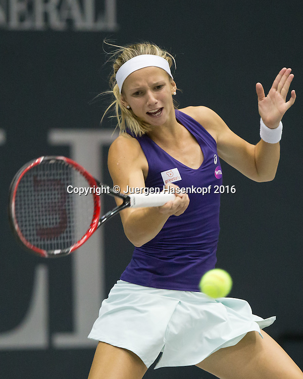 BARBARA HAAS (AUT)<br /> <br /> Tennis - Ladies Linz 2016 - WTA -  TipsArena  - Linz - Oberoesterreich - Oesterreich - 11 October 2016. <br /> &copy; Juergen Hasenkopf