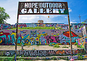 Hope Outdoor Gallery, Austin, Texas, April 7, 2014.