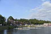 Duisburg, GERMANY.  FISA Masters World Championship. .Wedau Regatta Course .16:47:06  Thursday  06/09/2012   ..[Mandatory Credit Peter Spurrier:  Intersport Images]  ..Rowing, Masterss, 2012010476.jpg...