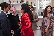 ALIONA ADRIANOVA, ( FAR RIGHT) Party given by Basia Briggs and Richard Briggs at their home in Chelsea. London. 14 May 2012