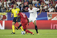 Sevilla FC vs Spartak Moskva - 1 Nov 2017