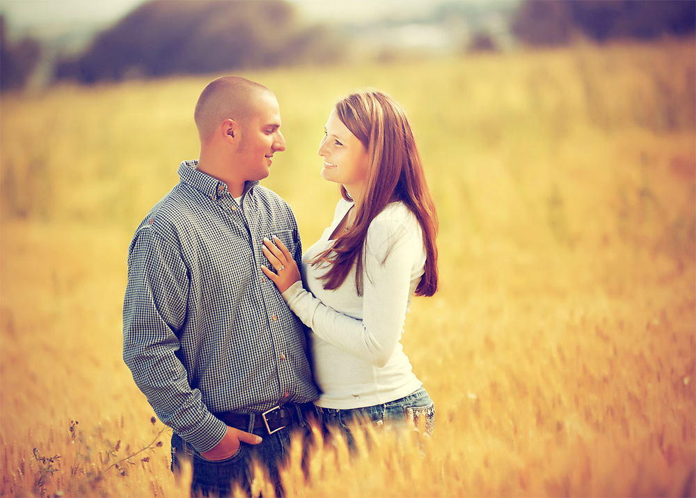 Nick and Sydney Engagement photo by Aspen Photo and Design