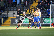 Notts County forward Craig Mackail-Smith (28) celebrates his goal 1-0 during the EFL Sky Bet League 2 match between Notts County and Mansfield Town at Meadow Lane, Nottingham, England on 16 February 2019.