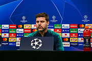 Tottenham Hotspur Manager Mauricio Pochettino during the Champions League press conference ahead of Borussia Dortmund v Tottenham Hotspur at Signal Iduna Park, Dortmund, Germany on 4 March 2019.