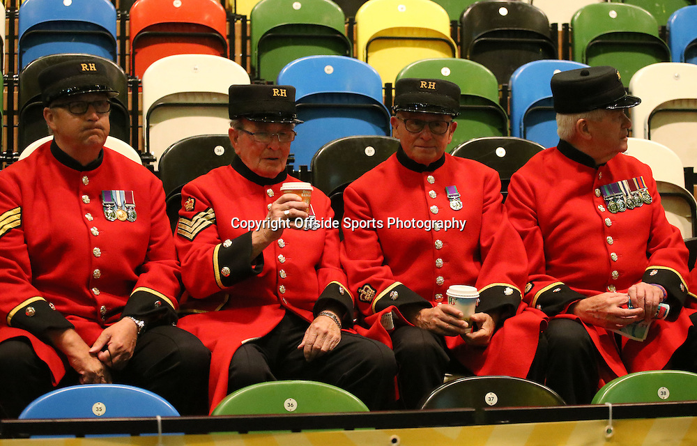 12 September 2014 - Invictus Games Day 2 - Chelsea Pensioners are in attendance for the early match.<br /> <br /> Photo: Ryan Smyth/Offside