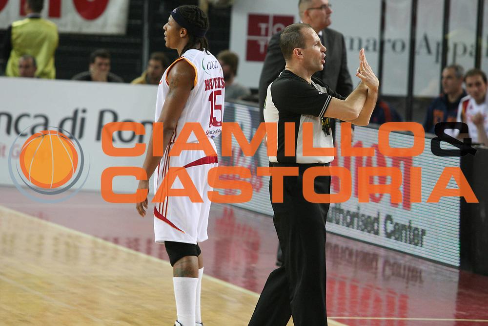 DESCRIZIONE : Roma Lega A1 2007-08 Lottomatica Virtus Roma Angelico Biella <br /> GIOCATORE : Arbitro <br /> SQUADRA : <br /> EVENTO : Campionato Lega A1 2007-2008 <br /> GARA : Lottomatica Virtus Roma Angelico Biella <br /> DATA : 26/01/2008 <br /> CATEGORIA : <br /> SPORT : Pallacanestro <br /> AUTORE : Agenzia Ciamillo-Castoria/G.Ciamillo