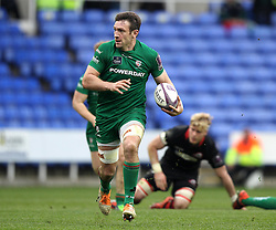 London Irish's Eoin Griffin - Photo mandatory by-line: Robbie Stephenson/JMP - Mobile: 07966 386802 - 05/04/2015 - SPORT - Rugby - Reading - Madejski Stadium - London Irish v Edinburgh Rugby - European Rugby Challenge Cup
