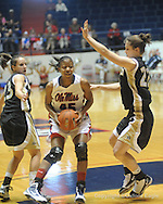 "Ole Miss' Bianca Thomas (45) vs. Vanderbilt women's basketball at C.M. ""Tad"" Smith Coliseum in Oxford, Miss. on Sunday, February 21, 2010."