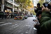 Formula E demonstration in Tokyo