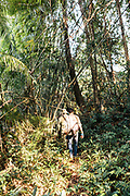 Walking the property of Shinta Mai Wild with forest rangers