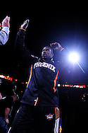 Oct. 29 2010; Phoenix, AZ, USA; Phoenix Suns guard-forward Jason Richardson (23) prior to the first quarter against the Los Angeles Lakers at the US Airways Center. Mandatory Credit: Jennifer Stewart-US PRESSWIRE.
