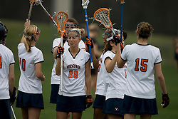 The Virginia Cavaliers women's lacrosse team defeated the Princeton Tigers 9-7 at Klockner Stadium in Charlottesville, VA on March 24, 2007.