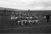 06/09/1964<br /> 09/06/1964<br /> 6 September 1964<br /> All-Ireland Senior Final: Tipperary v Kilkenny at Croke Park, Dublin.<br /> Kilkenny team.