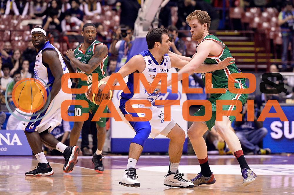 DESCRIZIONE : Milano Coppa Italia Final Eight 2014 Quarti di Finale Acqua Vitasnella Cantu Grissin Bon Reggio Emilia<br /> GIOCATORE : Stefano Gentile<br /> CATEGORIA : Controcampo<br /> SQUADRA : Acqua Vitasnella Cantu<br /> EVENTO : Beko Coppa Italia Final Eight 2014<br /> GARA : Acqua Vitasnella Cantu Grissin Bon Reggio Emilia<br /> DATA : 07/02/2014<br /> SPORT : Pallacanestro<br /> AUTORE : Agenzia Ciamillo-Castoria/R.Morgano<br /> Galleria : Lega Basket Final Eight Coppa Italia 2014<br /> Fotonotizia : Milano Coppa Italia Final Eight 2014 Quarti di Finale Acqua Vitasnella Cantu Grissin Bon Reggio Emilia<br /> Predefinita :