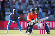 Jason Roy during the International T20 match between England and India at Old Trafford, Manchester, England on 3 July 2018. Picture by George Franks.