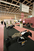 ISM (Internationale Su?sswarenmesse - International Sweets Fair) 2004 in Cologne, Germany - biggest of its kind, worldwide..Wellness oasis.