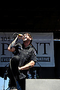 Hail The Villain perform at Pointfest 26 at Verizon Wireless Amphitheater in St. Louis on June 6, 2010