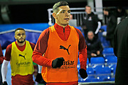 Trevor Clarke warms up before the The FA Cup match between Solihull Moors and Rotherham United at the Automated Technology Group Stadium, Solihull, United Kingdom on 2 December 2019.