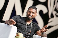 CANNES, FRANCE - JUNE 21:  ÊiHeartMedia presents a fireside chat about driving creativity and success with Ryan Seacrest and eight time Grammy winner Usher on the main stage at Lumire Theater, Palais des Festivals during the Cannes Lions Festival on June 21, 2016 in Cannes, France.  (Photo by Tony Barson/Getty Images for iHeartMedia)