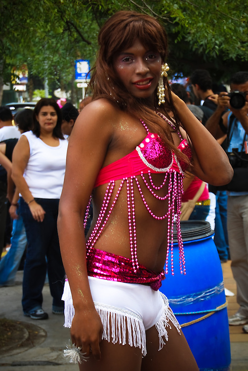 GAY PRIDE PARADE 2009 / MARCHA DEL ORGULLO GAY 2009<br /> Photography by Aaron Sosa<br /> Caracas - Venezuela 2009<br /> (Copyright © Aaron Sosa