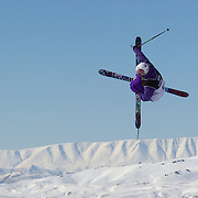 Pc Fosse, Norway, in action during the Men's Freeski Big Air competition at Cardrona, New Zealand during the Winter Games. Wanaka, New Zealand, 20th August 2011. Photo Tim Clayton