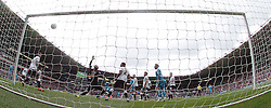 Derby Keeper Scott Carson cant keep out Wolves only goal by Benik Afobe,  Derby County v Wolves, Ipro Stadium, Sky Bet Championship, Sunday 18th October 2015 (Score Derby 4, Wolves, 1) Derby County v Wolves, Ipro Stadium, Sky Bet Championship, Sunday 18th October 2015 (Score Derby 4, Wolves, 1)