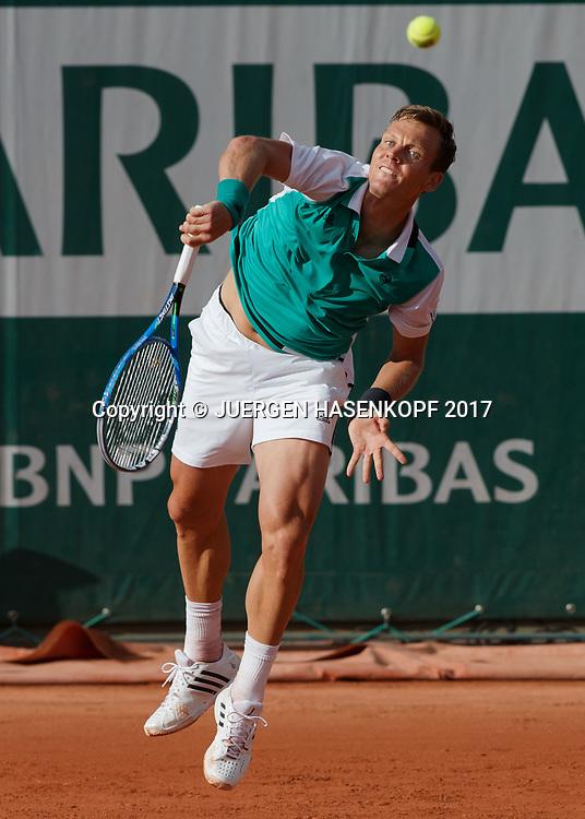 TOMAS BERDYCH (CZE)<br /> <br /> Tennis - French Open 2017 - Grand Slam ATP / WTA -  Roland Garros - Paris -  - France  - 30 May 2017.