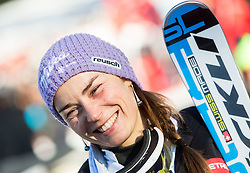 "Maze Tina (SLO) in finish area after the FIS Alpine Ski World Cup 2014/15 5th Ladies' Slalom race named ""Snow Queen Trophy 2015"", on January 4, 2015 in Course Crveni Spust at Sljeme hill, Zagreb, Croatia.  Photo by Vid Ponikvar / Sportida"